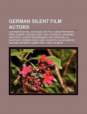 German silent film actors als Taschenbuch von
