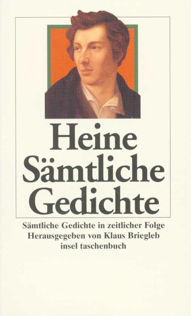 Sämtliche Gedichte in zeitlicher Folge als Taschenbuch von Heinrich Heine