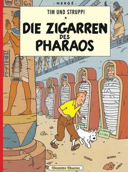 Tim und Struppi 03. Die Zigarren des Pharaos als Buch von Herge