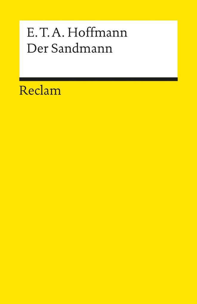 Der Sandmann als Taschenbuch von Ernst Theodor Amadeus Hoffmann