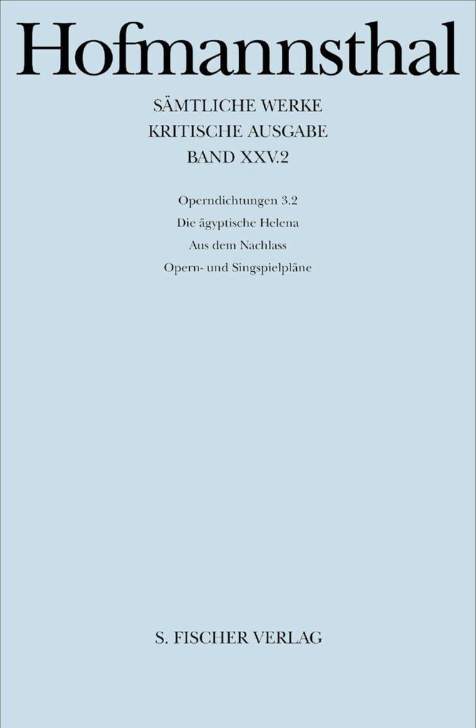 Sämtliche Werke XXVII als Buch von Hugo von Hofmannsthal