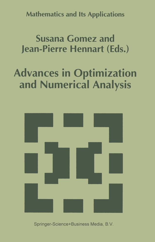 Advances in Optimization and Numerical Analysis als Buch von - Springer
