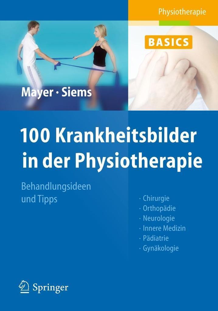 100 Krankheitsbilder in der Physiotherapie als Buch von Christine Mayer, Werner Siems