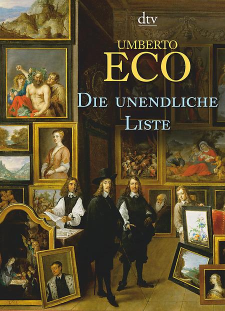 Die unendliche Liste als Taschenbuch von Umberto Eco