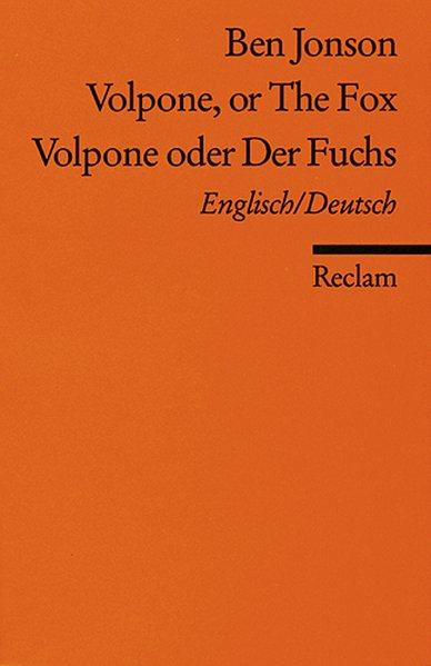 Volpone oder Der Fuchs / Volpone, or The Fox als Taschenbuch von Ben Jonson