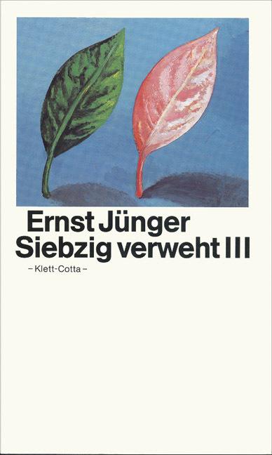 Siebzig verweht III als Buch von Ernst Jünger