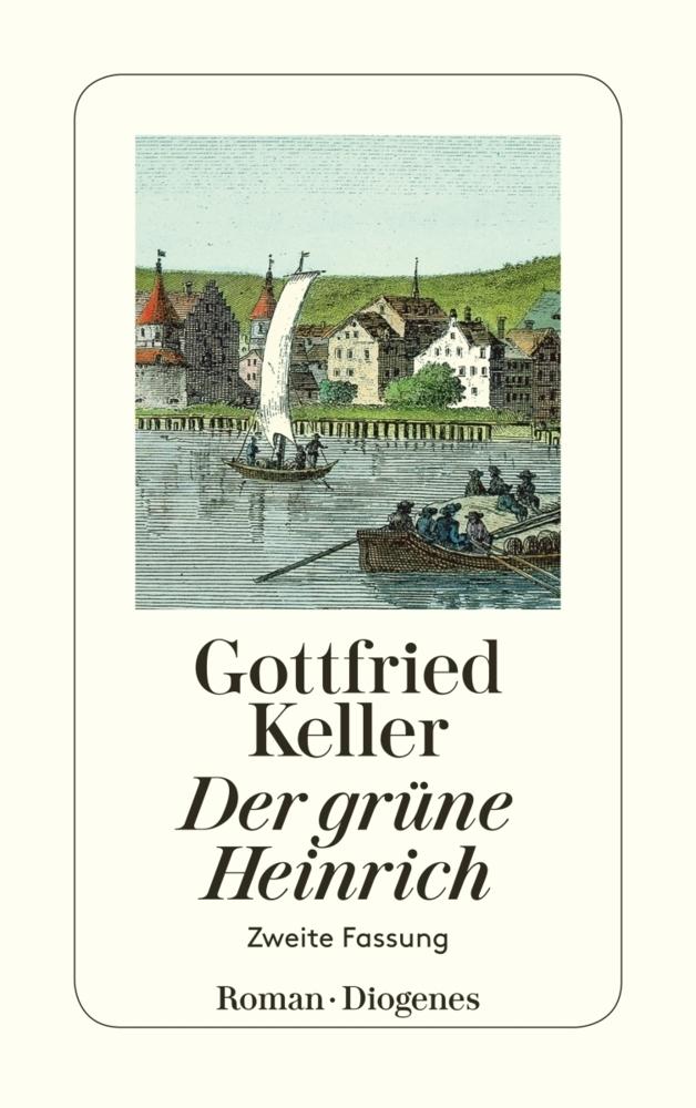 Der grüne Heinrich als Taschenbuch von Gottfried Keller