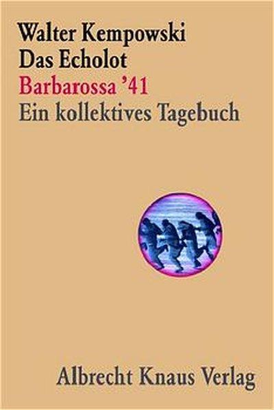 Das Echolot als Buch von Walter Kempowski