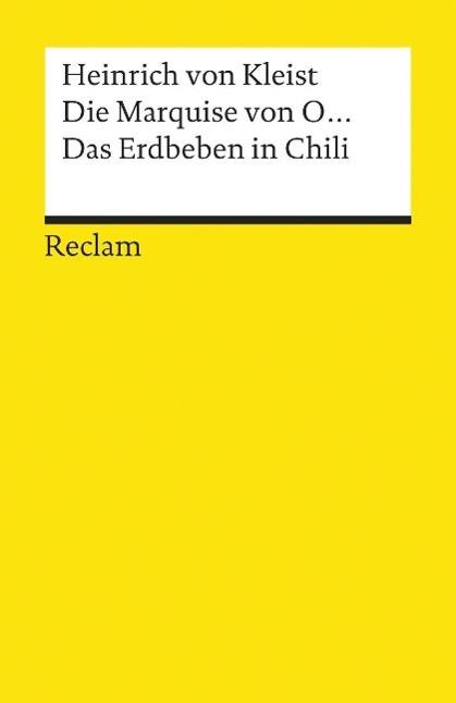 Die Marquise von O... / Das Erdbeben in Chili als Taschenbuch von Heinrich von Kleist