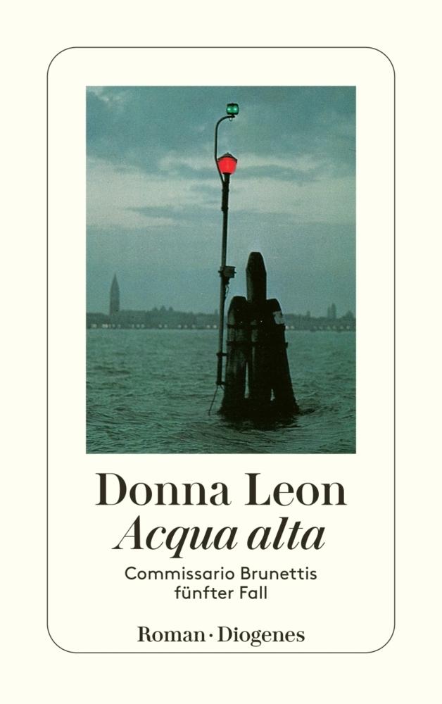 Acqua alta als Taschenbuch von Donna Leon