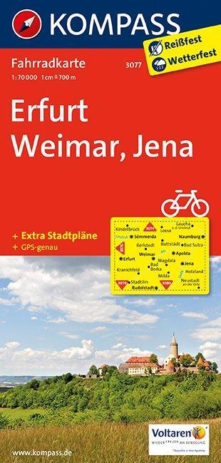 Erfurt - Weimar - Jena 1 : 70 000 als Buch von