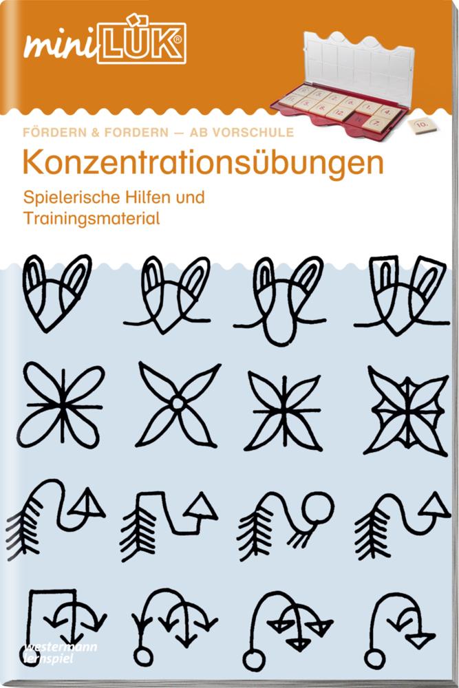 miniLÜK. Konzentrationsübungen 1 als Buch von Heiner Müller