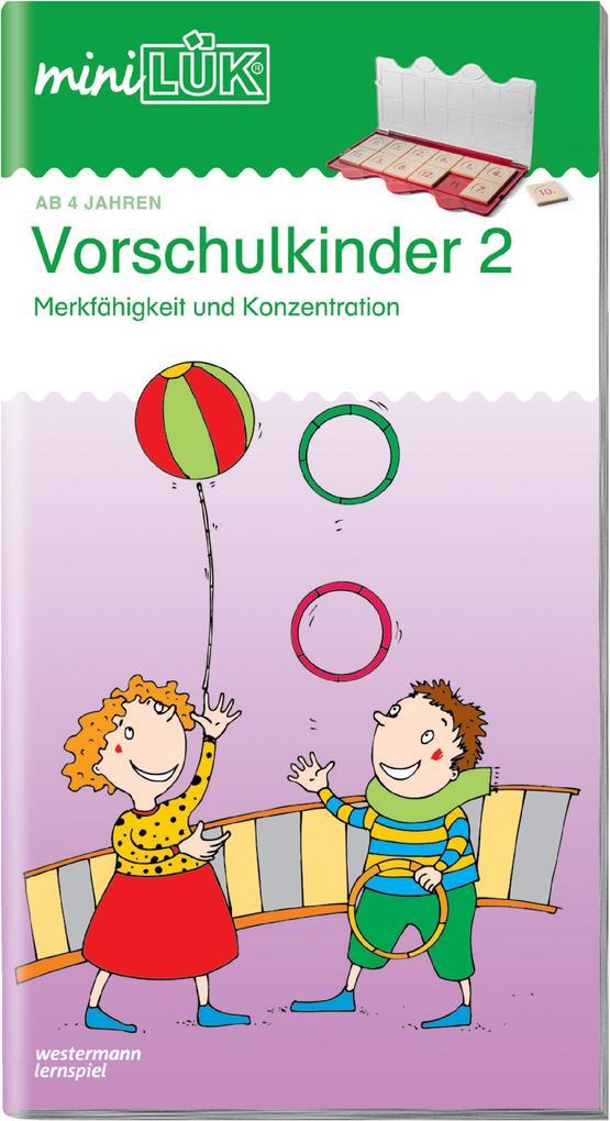 miniLÜK. Vorschulkinder 2 als Buch von