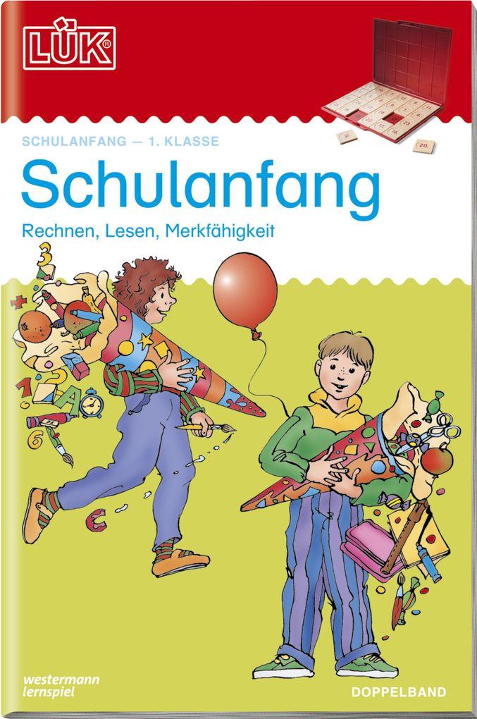 LÜK 2 in 1. Schulanfang als Buch von