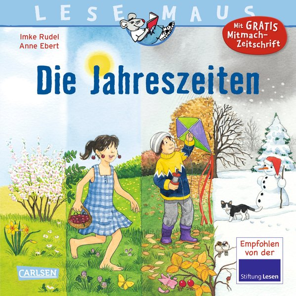 Die Jahreszeiten als Buch von Imke Rudel