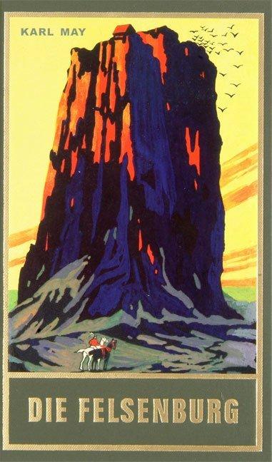 Die Felsenburg als Buch von Karl May