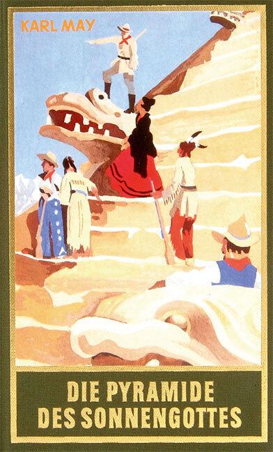 Die Pyramide des Sonnengottes als Buch von Karl May