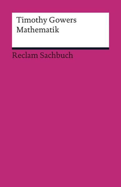 Mathematik als Buch von Timothy Gowers