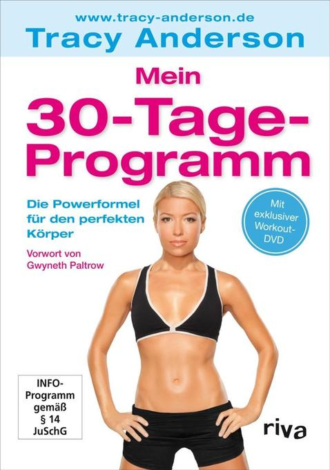 Mein 30-Tage-Programm als Buch von Tracy Anderson