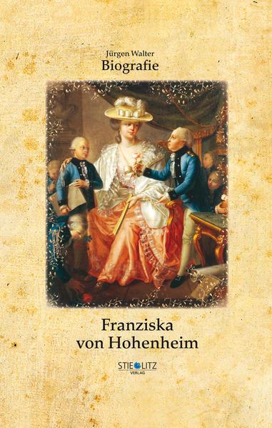 Franziska von Hohenheim als Buch von Jürgen Walter