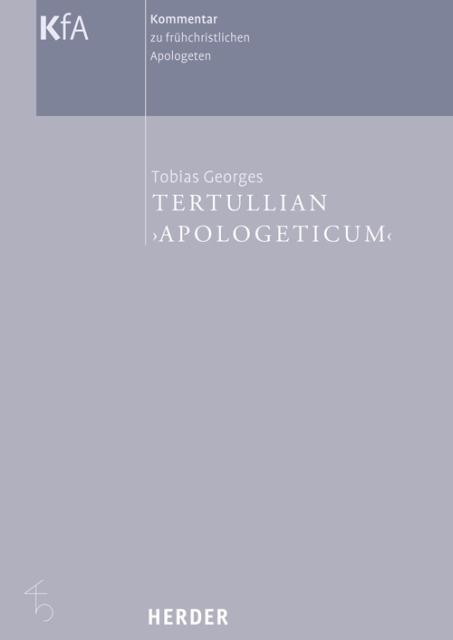 Tertullian ´Apologeticum´ als Buch von Tobias G...