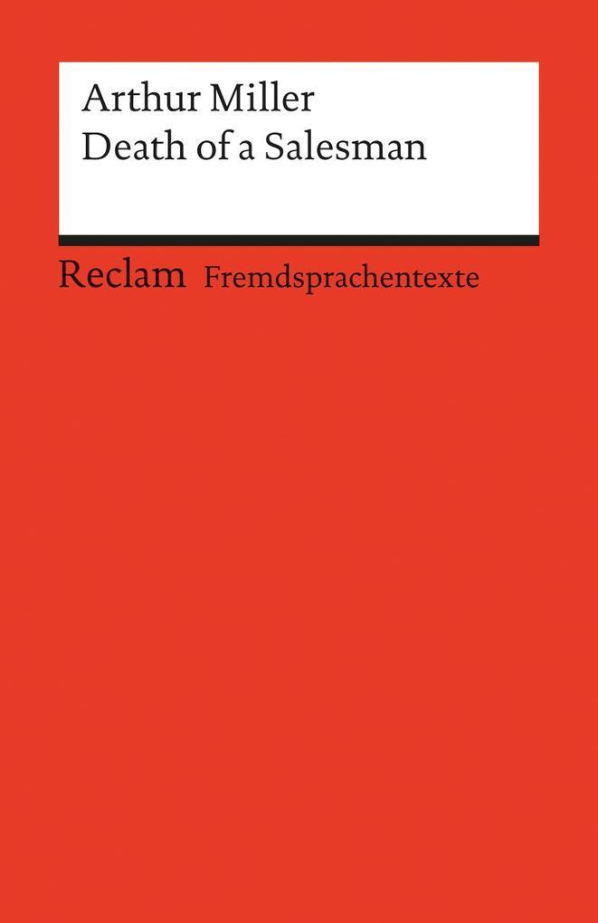 Death of a Salesman als Taschenbuch von Arthur Miller