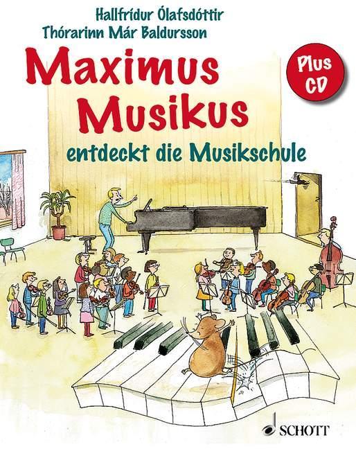 Maximus Musikus als Buch von Hallfridur Olafsdottir