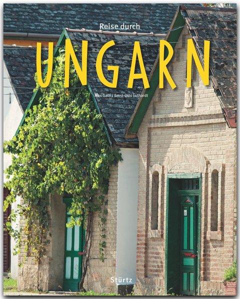 Reise durch Ungarn als Buch von Ernst-Otto Luthardt