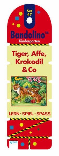 Bandolino Set 47. Tiger Affe Krokodil Co als Buch von Friederike Barnhusen