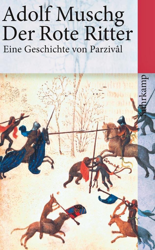 Der Rote Ritter als Taschenbuch von Adolf Muschg