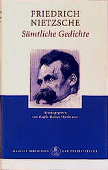 Sämtliche Gedichte als Buch von Friedrich Nietzsche