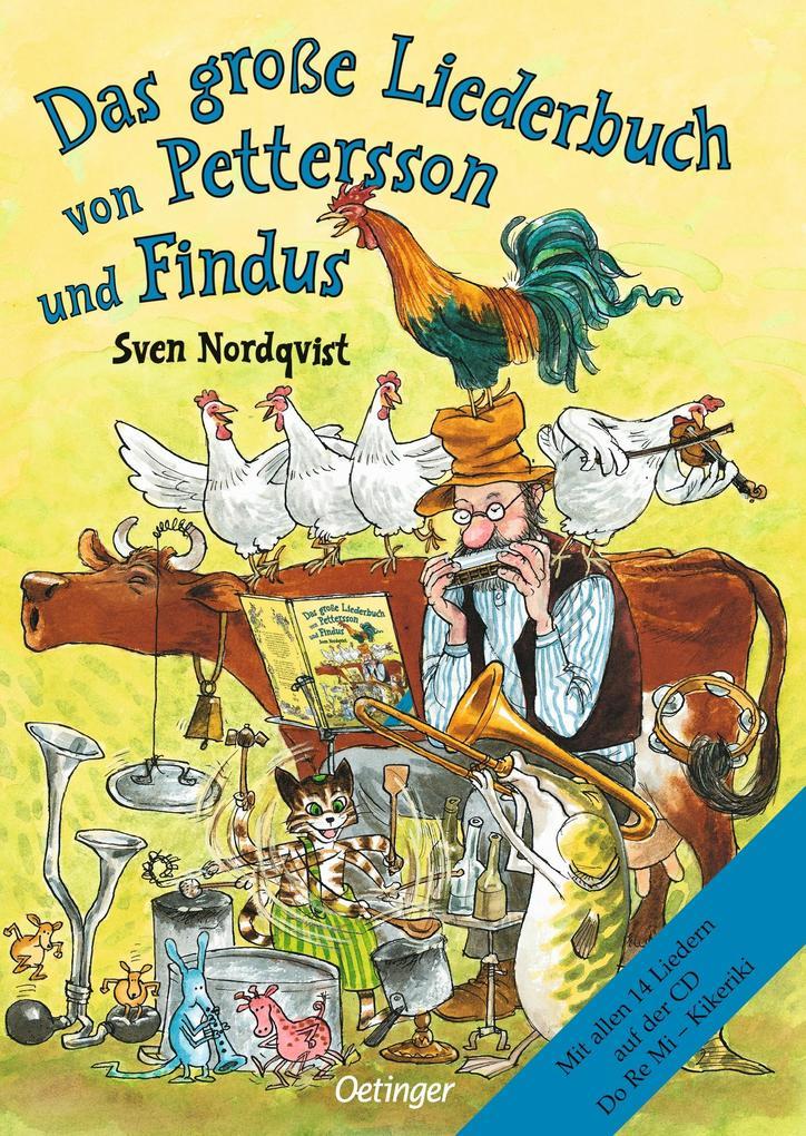 Das große Liederbuch von Pettersson und Findus als Buch von Sven Nordqvist