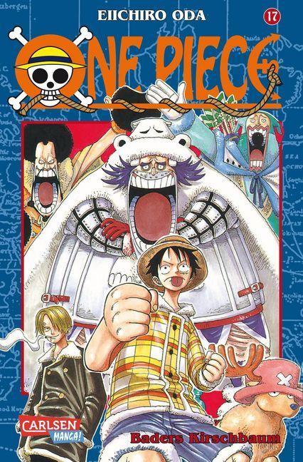 One Piece 17. Baders Kirschbaum als Buch von Eiichiro Oda