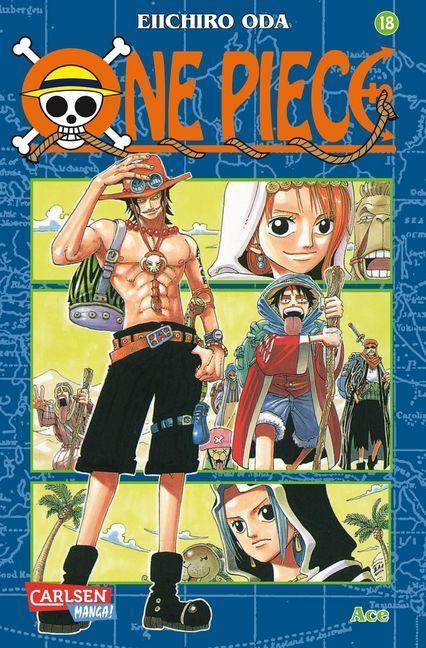 One Piece 18. Ace als Buch von Eiichiro Oda