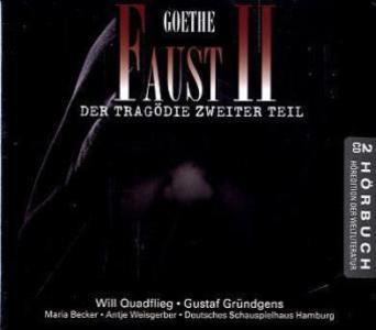 Faust II als Hörbuch CD von Johann Wolfgang Goethe