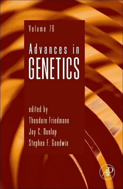 Advances in Genetics 73 als Buch von