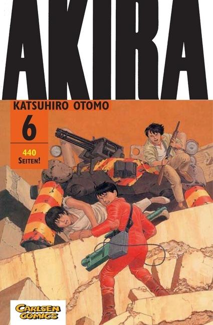 Akira 06. Original-Edition als Buch von Katsuhiro Otomo