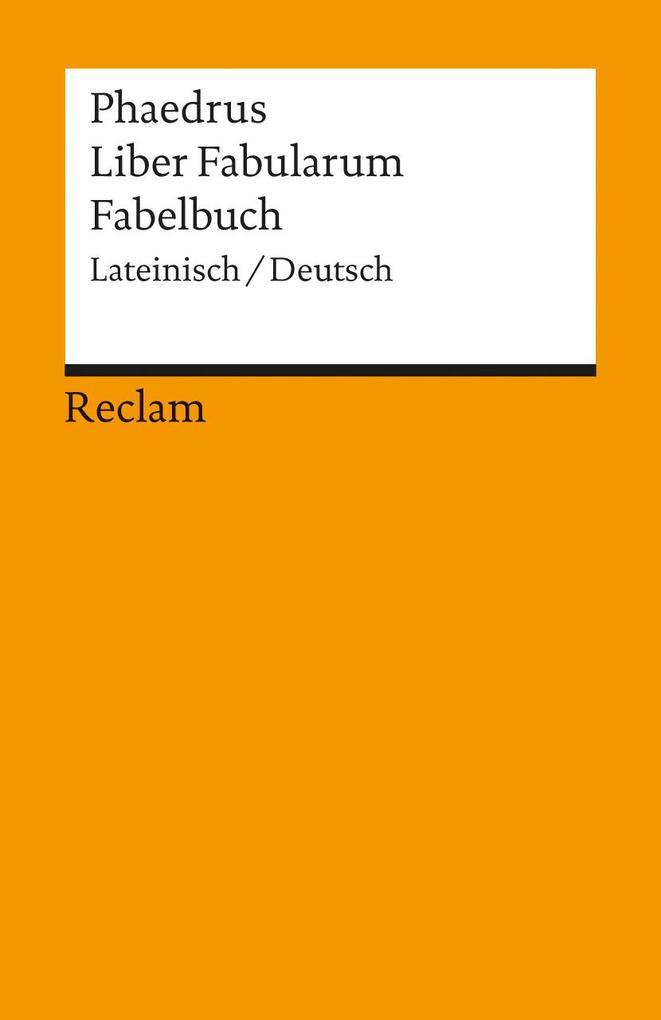 Fabelbuch / Liber Fabularum als Taschenbuch von Phaedrus