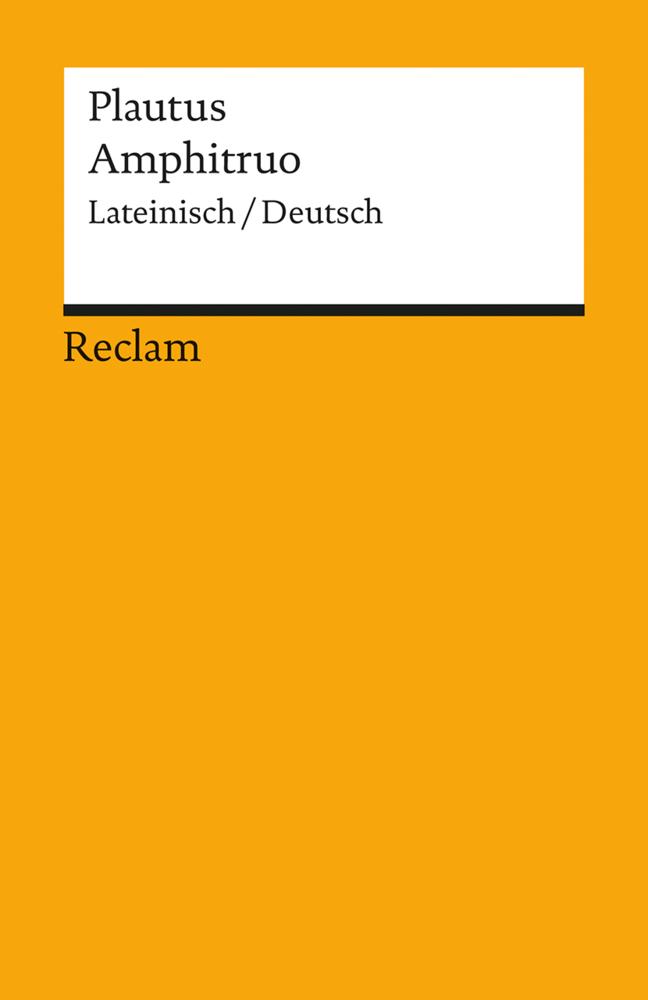 Amphitruo als Taschenbuch von Plautus
