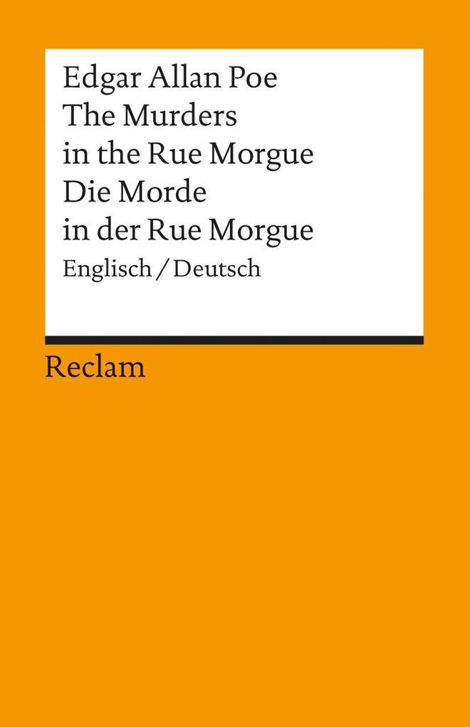 Die Morde in der Rue Morgue als Taschenbuch von Edgar Allan Poe