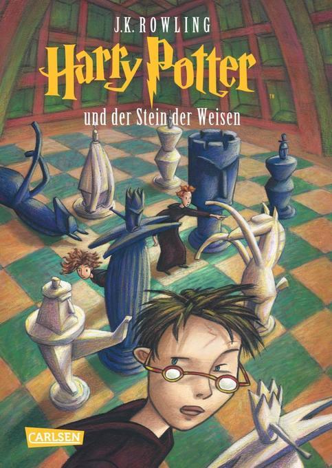 Harry Potter 1 und der Stein der Weisen als Buch von Joanne K. Rowling