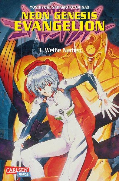 Neon Genesis Evangelion 03. Weiße Narben als Buch von Yoshiyuki Sadamoto, Gainax