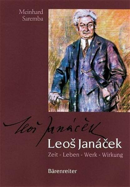 Leos Janaczek als Buch von Meinhard Saremba