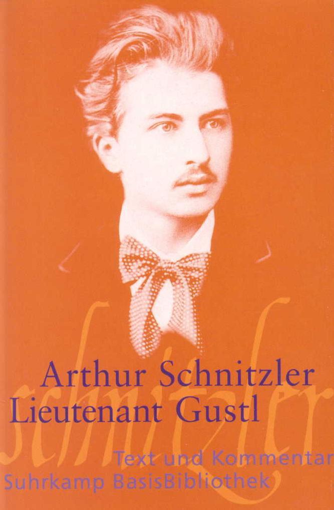 Leutnant Gustl als Taschenbuch von Arthur Schnitzler
