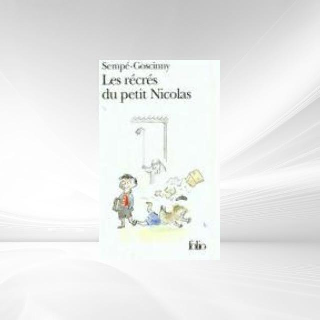 Les recres du petit Nicolas als Taschenbuch von Jean-Jacques Sempe, Rene Goscinny