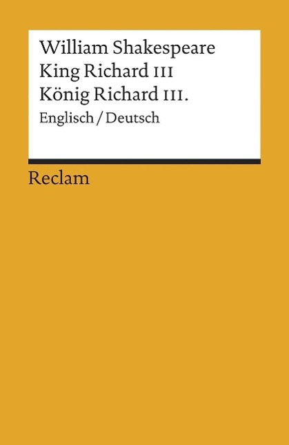 King Richard III als Taschenbuch von William Shakespeare