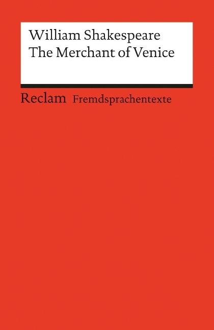 The Merchant of Venice als Taschenbuch von William Shakespeare
