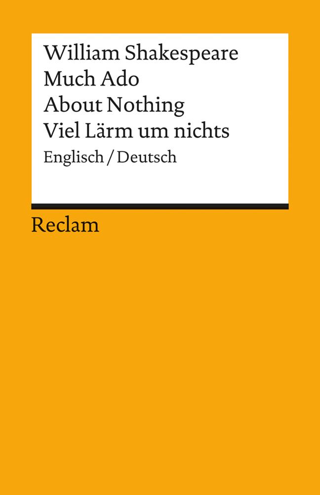 Much Ado About Nothing. Viel Lärm um nichts als Taschenbuch von William Shakespeare