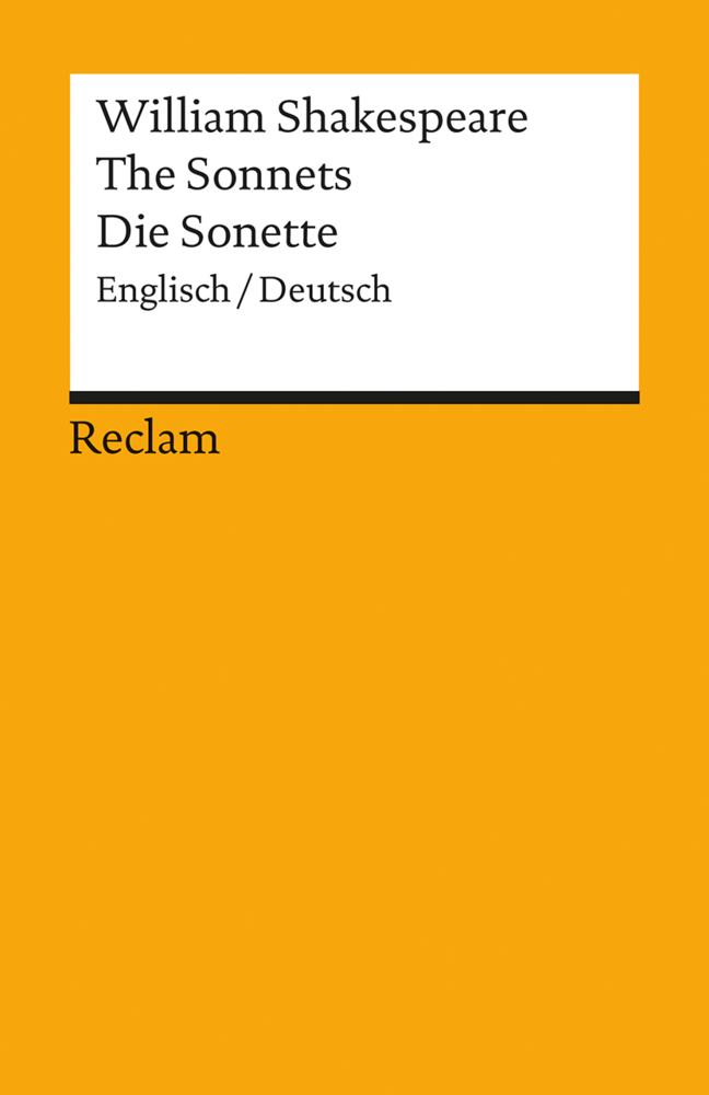 Die Sonette / The Sonnets als Taschenbuch von William Shakespeare