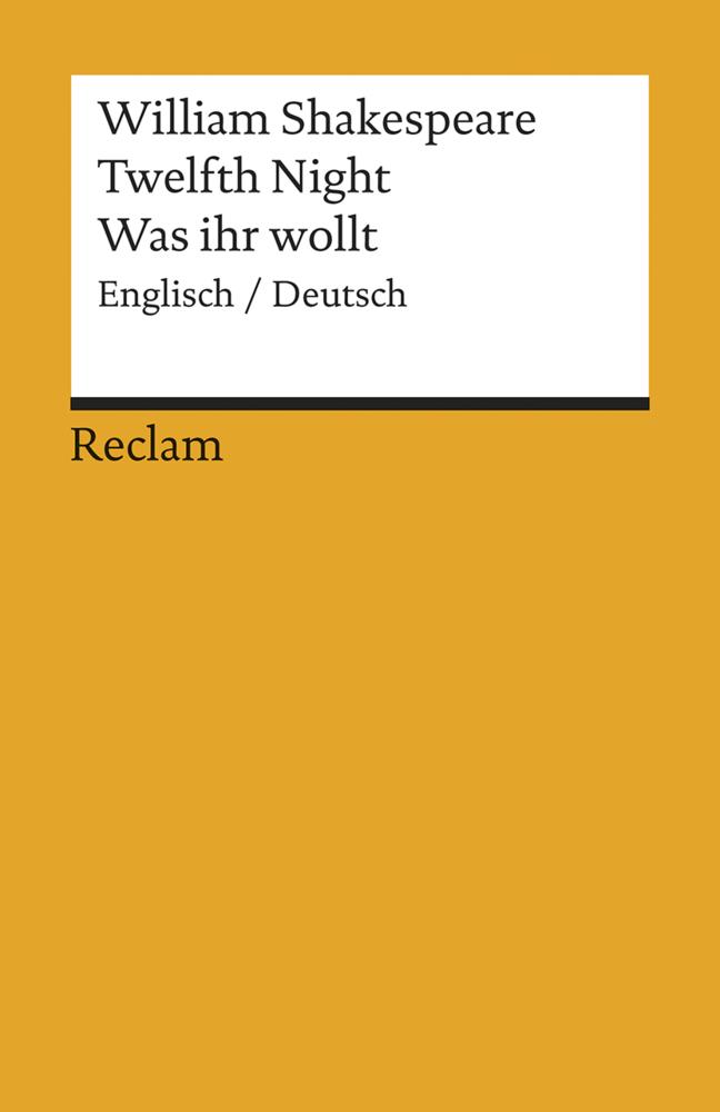 Twelfth Night / Was ihr wollt (Der Dreikönigstag) als Taschenbuch von William Shakespeare